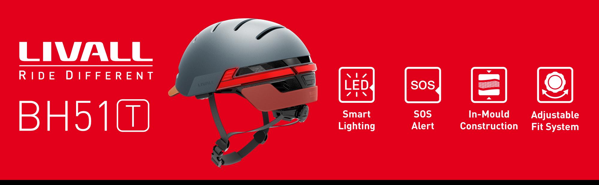 casca smart Livall BH51T