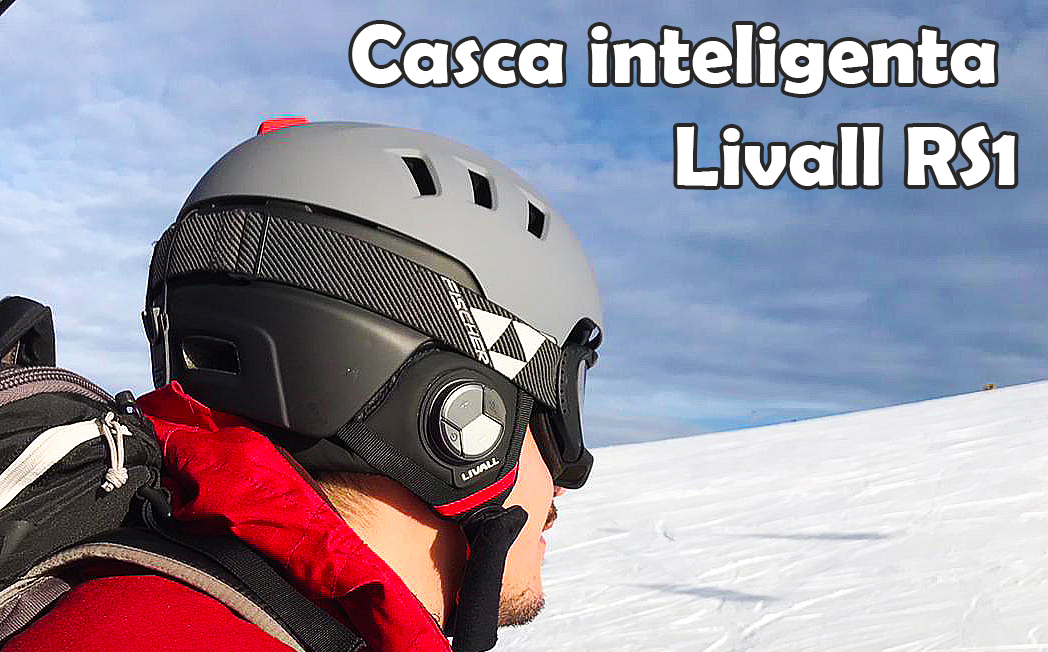 casca smart schi snowboardLivall RS1