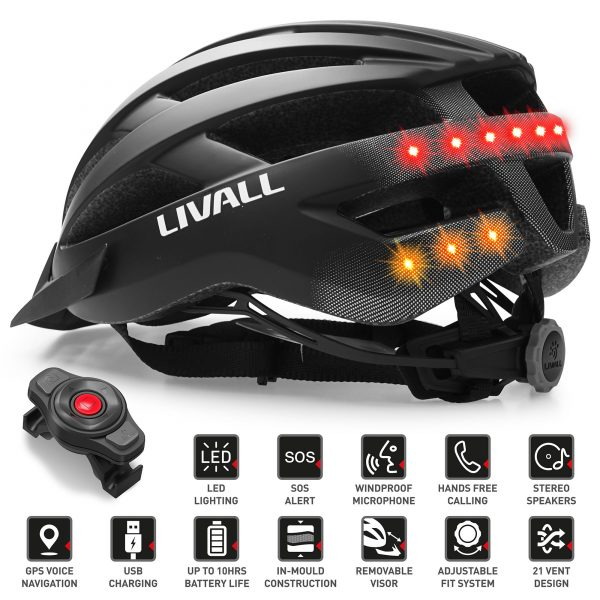 Casca smart Livall MT1