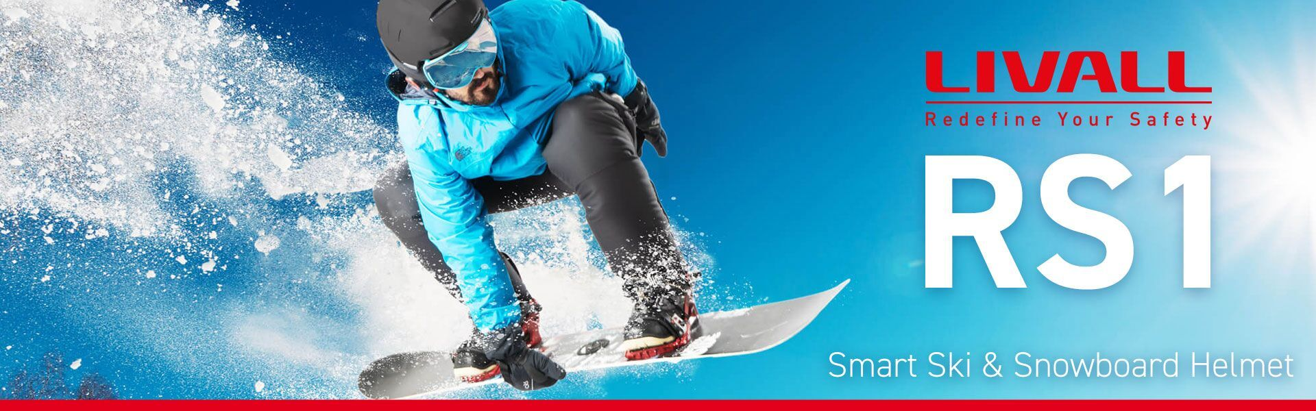 Casca smart schi snowboard Livall RS1